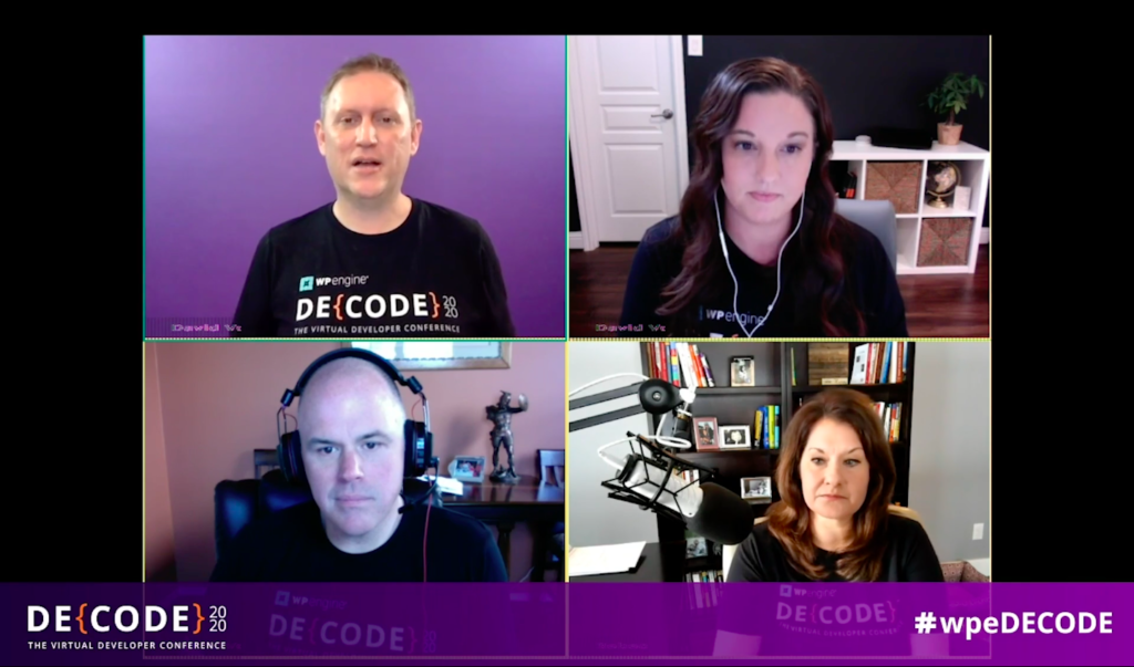 WordPress DE{CODE} Session with David V, Shelly Fagin, Rebecca Gil & Loren Baker on WordPress SEO Auditing